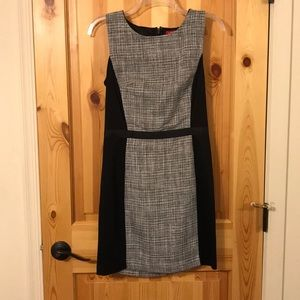 Sleeveless dress, worn for semi formal occasions